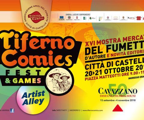Con la mostra di Cavazzano si inaugura (alla grande) il Tiferno Comics 2018