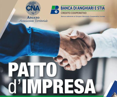 """""""Patto D'Impresa"""" in collaborazione con Cna e Banca di Anghiari e Stia"""