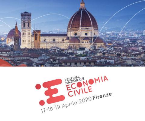 Ti aspettiamo al Festival dell'Economia Civile 2020 a Firenze dal 17 al 19 aprile